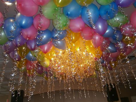 Decorating With Balloons And Streamers » Home Design 2017