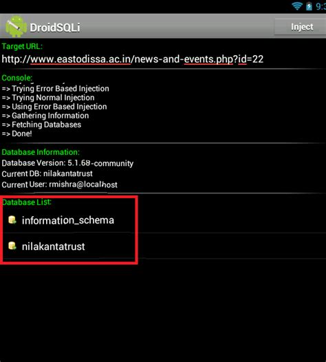 Tutorial Carding Lewat Android | sql injection dengan droidsqli di android idca blog s
