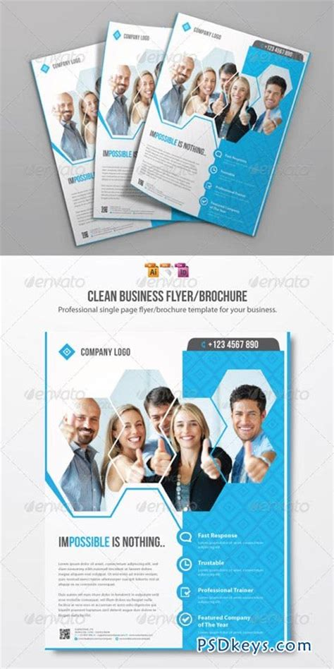 Clean Business Flyer Template 2492159 187 Free Download Photoshop Vector Stock Image Via Torrent Flyer Template Rar