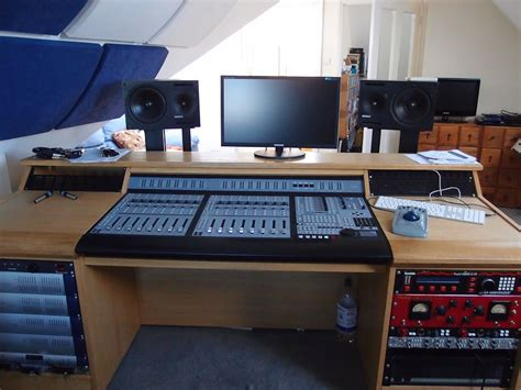 Pro Command Console Desk Studioracks Recording Studio Desk Uk