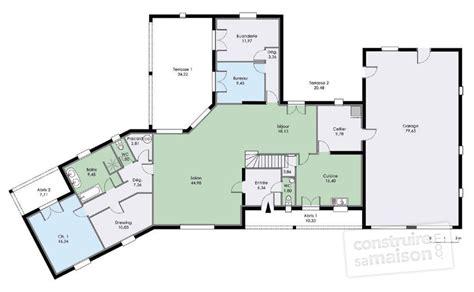 Maison Familiale Plan by Grande Maison Familiale D 233 Du Plan De Grande Maison