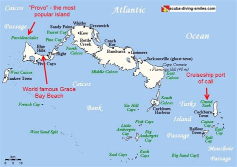 map of turks and caicos map of turks and caicos see the location of these islands