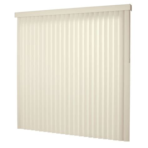 hton bay 78x84 alabaster 3 5 in vertical blind kit