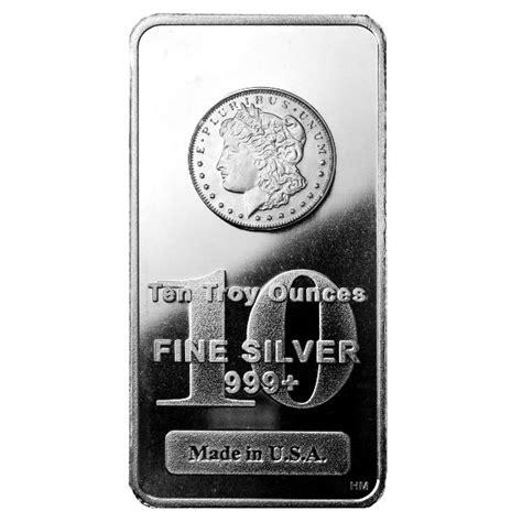 10 Ounce Silver Bar by Buy 10 Oz Design Silver Bars Silver