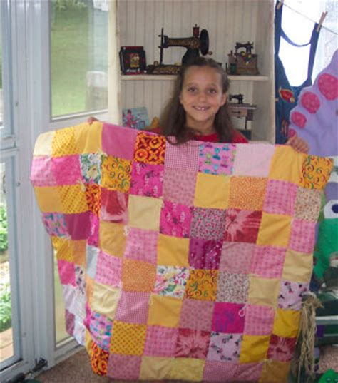 How Do You Make A Patchwork Quilt - how to make an easy pieced or patch work quilt