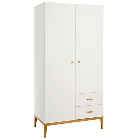 homebase bedroom furniture wardrobes habitat tatsuma 2 door wardrobe white at homebase be