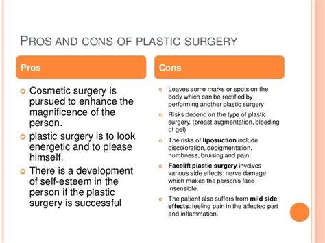 7 Cosmetic Procedures Id To by Plastic Surgery