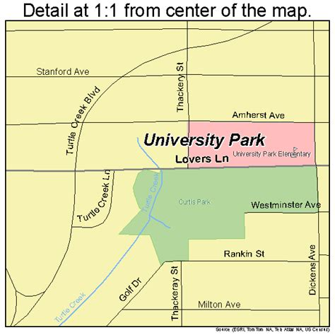 universities in texas map university park texas map 4874492