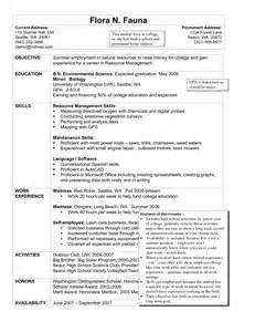 sle resume for housekeeping in hotel resume