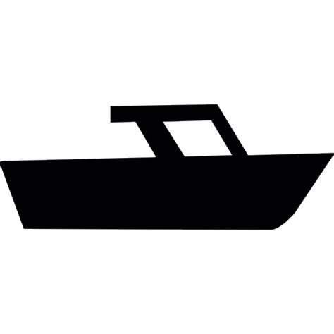 boat silhouette icon speed boat side view silhouette icons free download