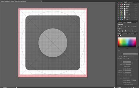 Design An Android App Icon In Adobe Illustrator Adobe Content Corner App Icon Template Illustrator