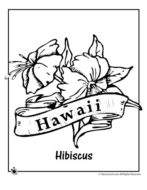 coloring page hawaii printable hawaiian coloring pages coloring home