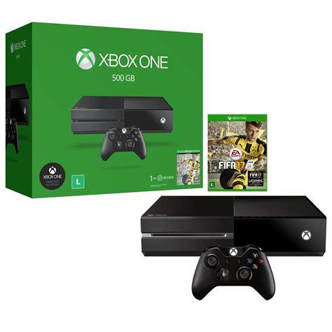 fifa console console xbox one 500gb fifa 17 via xbox live