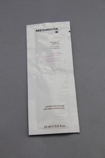 velour reinigen medavita velour soothing shoo 15 ml sachet linderndes
