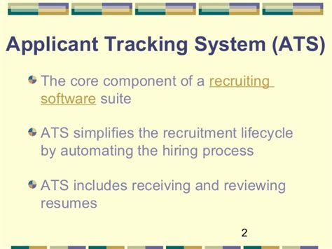 optimize your resume for applicant tracking systems 2016