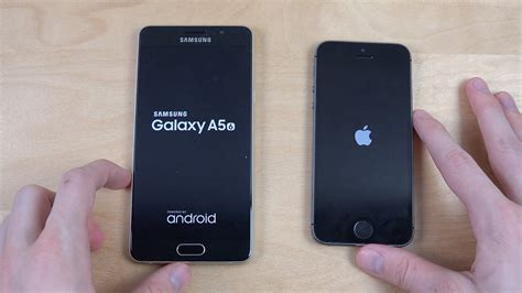 Samsung A3 Vs Iphone 5 samsung galaxy a5 2016 vs iphone 5s speed test