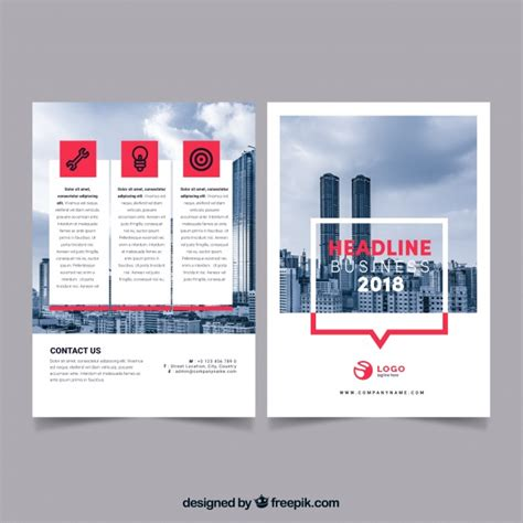 Professional Business Template by Professional Business Flyer Template Vector Free