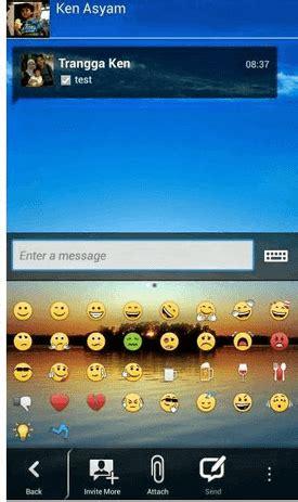 cara mengganti wallpaper chat bbm cara mudah mengganti background bbm di smartphone android