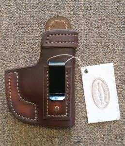 sig p365 iwb and owb leather holster jackson leatherwork
