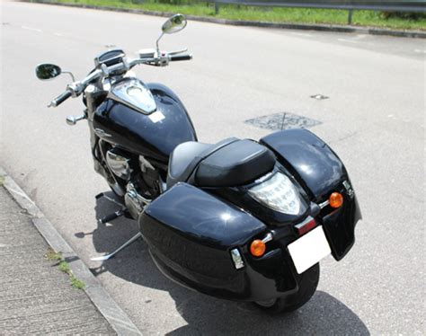 Suzuki M109r Saddlebags Meancycles Detachable Saddlebags For M109r
