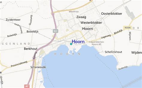 hoorn netherlands map hoorn tide station location guide