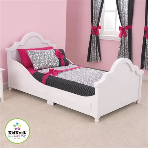 kids bed kidkraft raleigh white toddler bed ebay