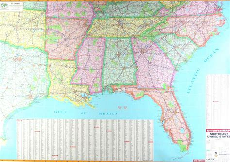 map of se us cities map of southast pictures to pin on pinsdaddy