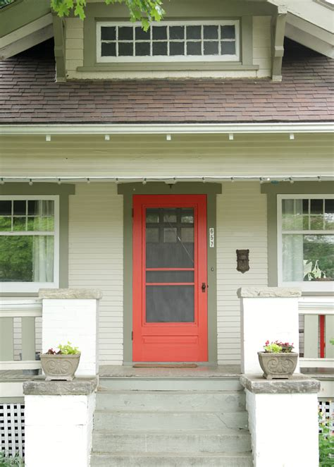 best front door colors green siding red door www imgarcade com online image
