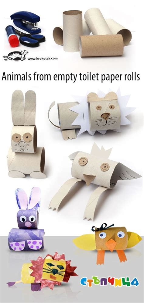 Craft Ideas Using Empty Toilet Paper Rolls - the world s catalog of ideas