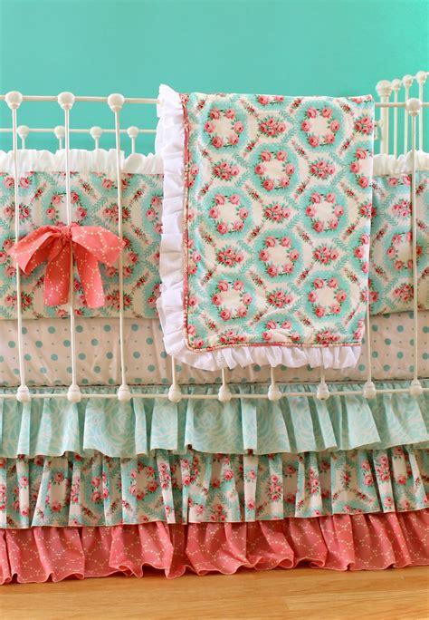 Vintage Crib Bedding Set Antique Primrose Crib Bedding Set Lottie Da Baby