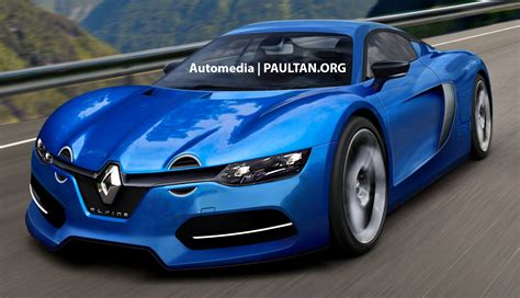 renault sports car renault s alpine sports car inches closer to production
