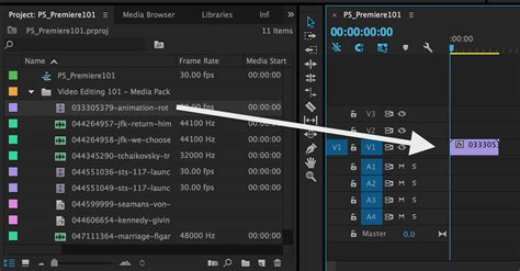 adobe premiere pro new sequence video editing 101 getting started with adobe premiere pro