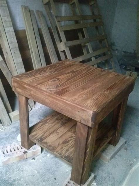 dads upholstery recycled pallet table pallet ideas furniture dads and
