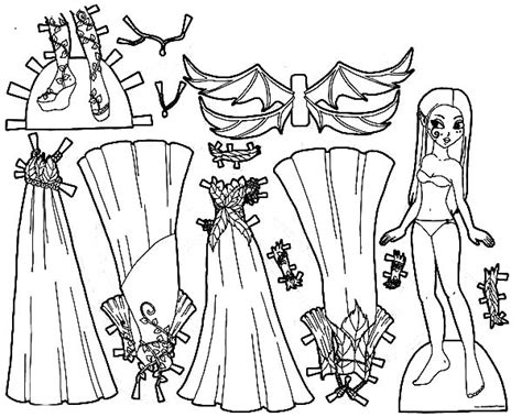 fashion dress up pages coloring pages