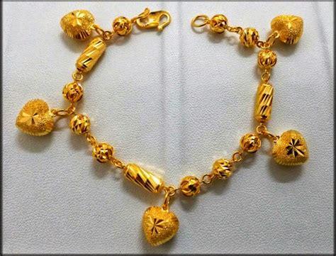 Gelang Tangan Dewasa Model Victory Dunia Emas Narshifa Rantai Tangan Emas Tulen 916