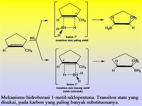 organik mekanisme reaksi