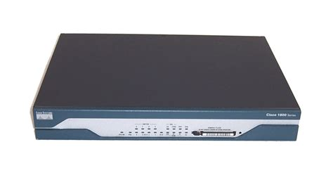 Router Cisco 1800 Series cisco 1800 series 1803 v04 version 12 4 6 t7 integrated services router ebay