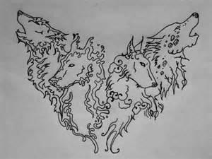 elemental wolves by silencer171 on deviantart