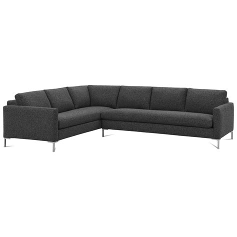 straight sectional sofas rowe modern mix contemporary sectional sofa with straight