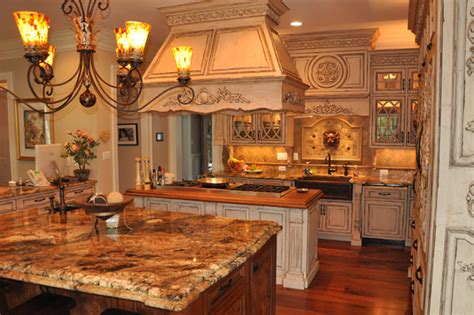 ornate kitchen cabinets french country inspired rococo kitchen cabinets by graber