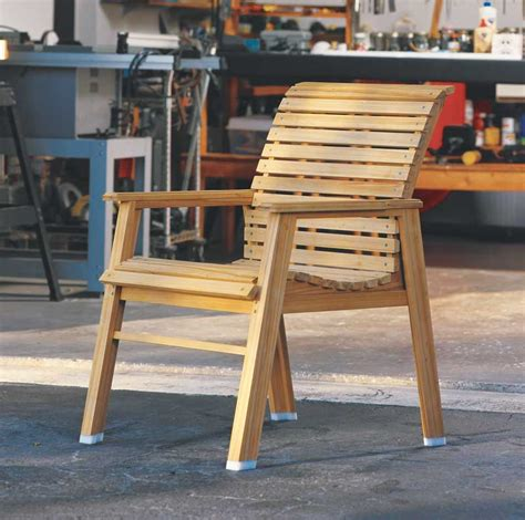 patio chair popular woodworking magazine
