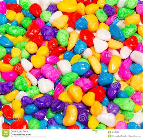 Colourfull Gems 1 colored stones stock photo image 42143663
