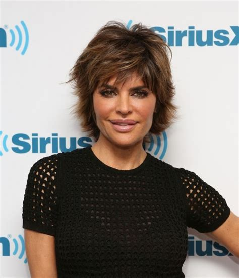 short piecy hair styles that have been texturized 30 spectacular lisa rinna hairstyles