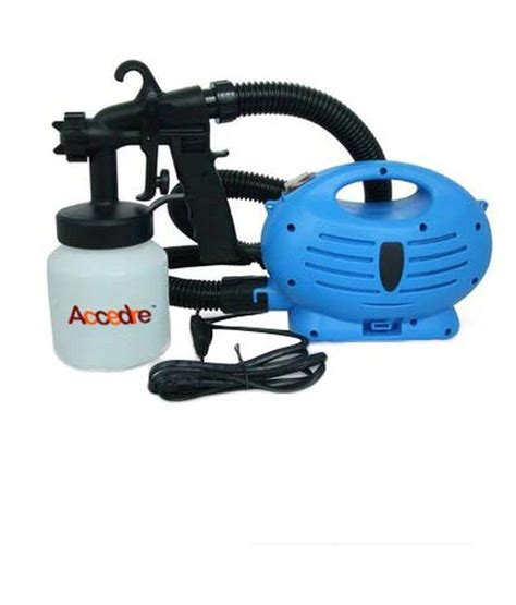 Paint Gun Paint Spray Zoom Spray Gun Alat Semprot Cat accedre paint zoom spray gun with motor and paint bottle
