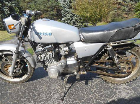 Suzuki Gs Bike 80 Suzuki Gs 750 Drag Bike For Parts Repair For Sale On