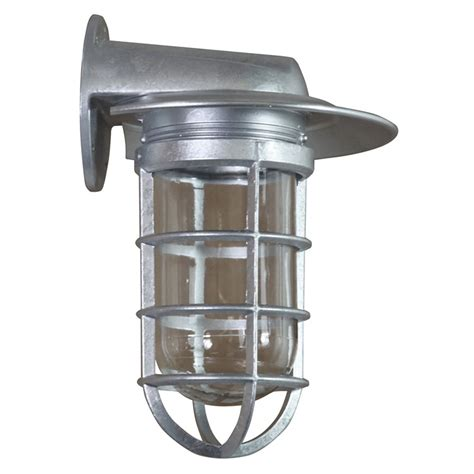Galvanized Wall Sconce Retropolitan Galvanized 6 5 Inch Height One Light Outdoor Wall Sconce Anp Lighting Wall Mo