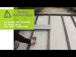 prix d une terrasse en bois composite poser une terrasse lambourde composite sur dalle b 233 ton