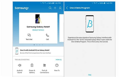 samsung s android pie one ui beta programme extends to galaxy note9 facts ibtimes india