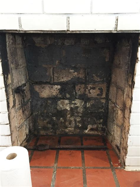 cleaning soot from fireplace box fireplaces