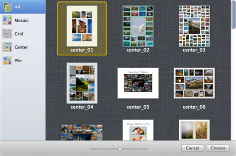 collage maker templates free getting started how to make collage using collageit for mac